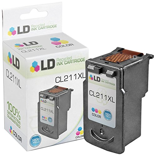 LD © Canon CL-211XL High Yield Color Remanufactured Inkjet Cartridge