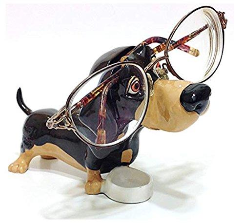 Dachshund Puppy Dog Breed Novelty Eyeglass Holder - Holder Dachshund Eyeglass