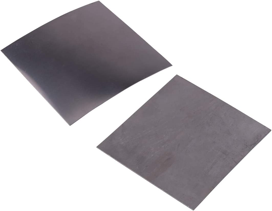 0.01inch Thick Square Titanium Foil Sheet Ti Thin Plate Material 99.8/% Purity Metalworking Supplies LETAOSK 0.3mm