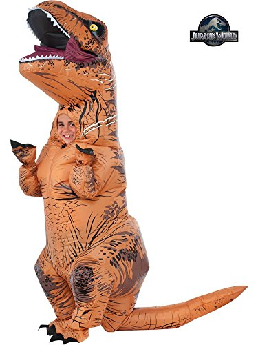 Rubie's Costume Co Jurassic World T-Rex Inflatable Costume (Child's age 5 to 7 (Kids Costumes)