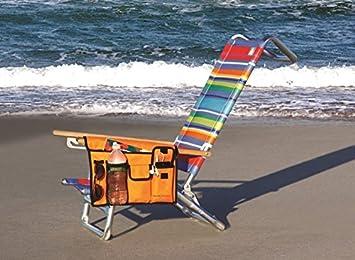 Periscope HandyPockets Shoreline Tote Bag and Chair Organizer Color Blue