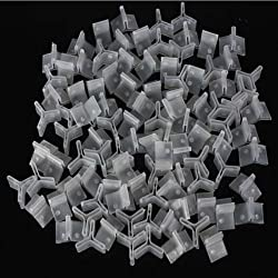 Boofab 100 Pcs Fishing Treble Hooks Safety Covers Bonnets Safety Caps Protector