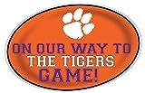 Clemson Tigers Jumbo Game Day Peel & Stick