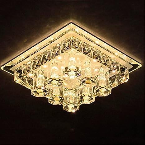 LED de cristal modernas de alta calidad 12W Lámpara de techo ...