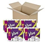 VIVA Choose-A-Sheet* Paper Towels, White, Big Roll, 24 Rolls