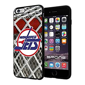 """Winnipeg Jets Goal Net #1879 iPhone 6 Plus (5.5"""") I6+ Case Protection Scratch Proof Soft Case Cover Protector"""