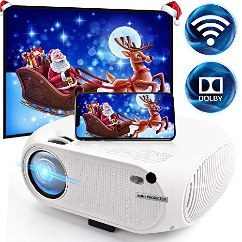 Wireless WiFi Movie Projector 3600 Lumens