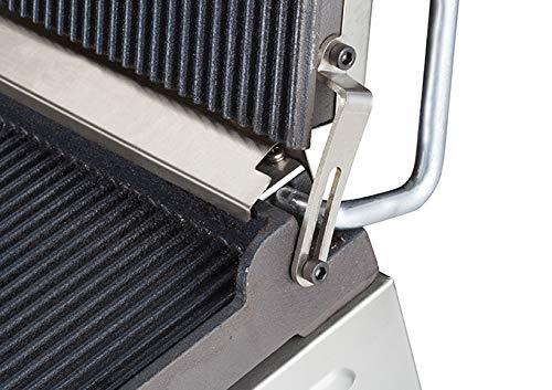 Winco EPG-1C, 14 X 16-Inch Single Surface Electric Panini Grill, 120V~60Hz, 1800W, 15A, NSF, Sandwich Press, Panini Maker, Panini Press by Winco (Image #2)