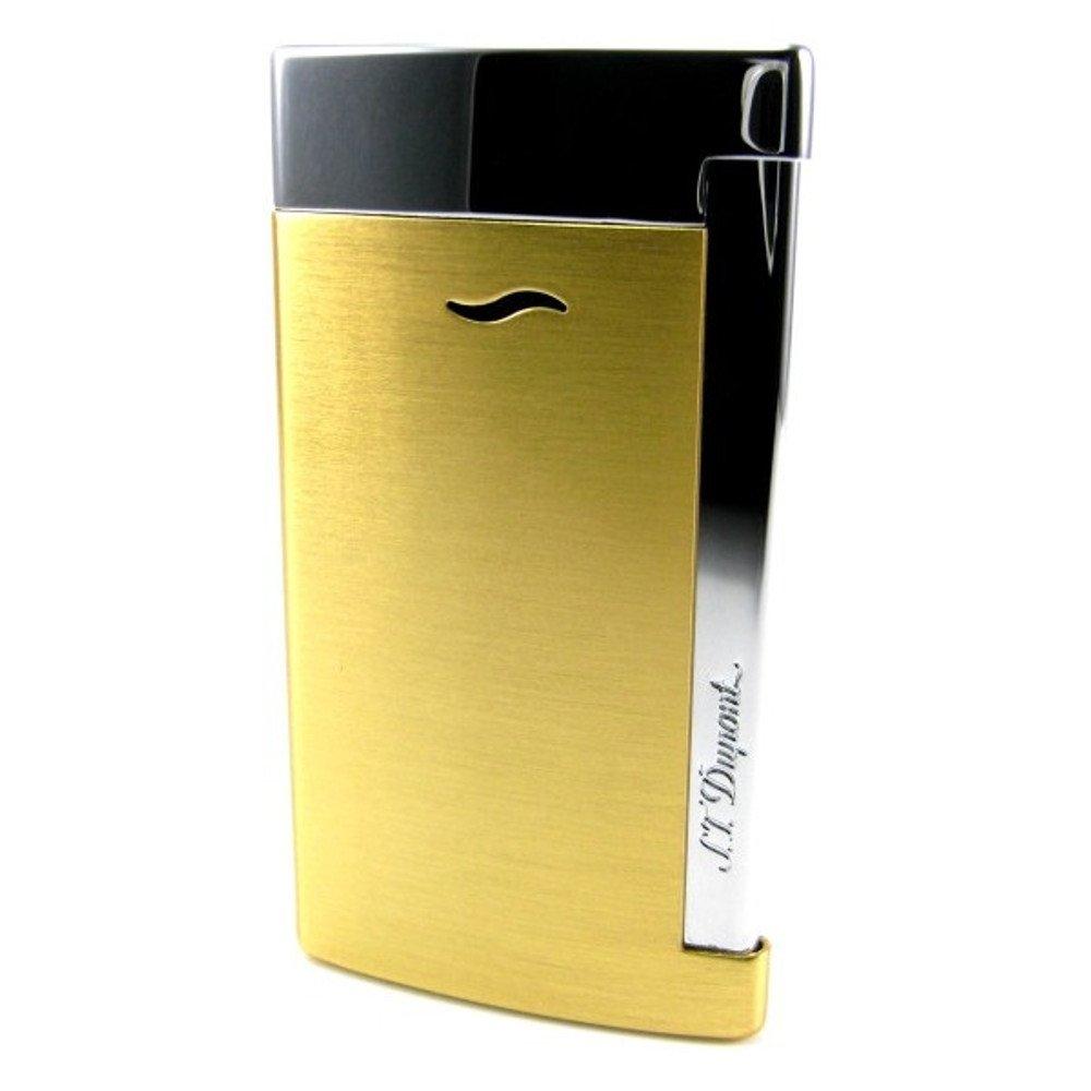 S.T.Dupont (エステーデュポン) トーチフレーム式ライター スリム7 5色 [国内正規品] B01M8I0UIQ イエローゴールド イエローゴールド
