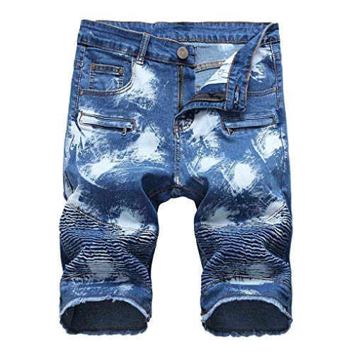 Cher 36 Hombre Zipper Rodillas 28 Biker Blau Hole 34 Slim 32 Jeans 42 Fit 40 Las Skinny 38 En Fit Ripped 30 TqzWwTXr