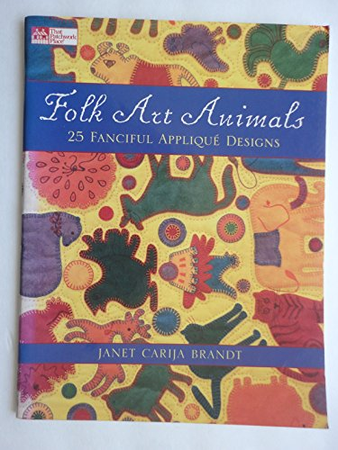 Populace Art Animals: 25 Fanciful Applique Designs