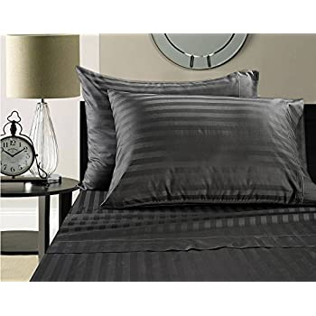supima cotton sheets on amazon blockbuster sale todays special highest quality luxury super soft 100 supima cotton damask stripe 500 thread count sheet - Pima Cotton Sheets