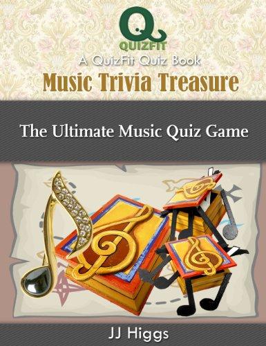 Ultimate Music Trivia (Music Trivia Treasure: The Ultimate Music Quiz Game (QuizFit Trivia Games, Quiz Books & Fun Facts Book 5))