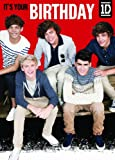 Official One Direction (1D) Birthday Card -Generic Group Shot