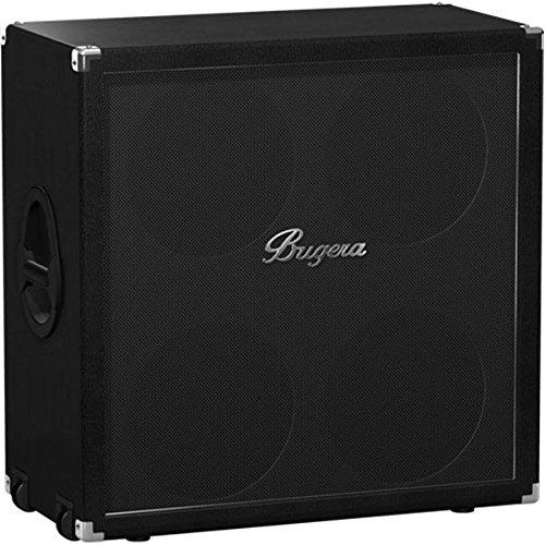 4x12 Mono / Stereo Guitar (Bugera  412F-BK Classic 4x12-inch, 200-Watt Straight Guitar Cabinet)