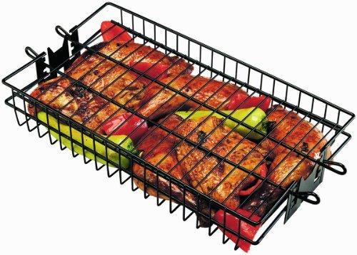 Onward Manufacturing Company Non-Stick Flat Spit Rotisserie Grill Basket Garden, Lawn, Supply, Maintenance