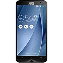 "ASUS ZenFone 2 64GB GSM Unlocked Smartphone 4GB RAM 5.5"" HD LCD -Silver (Certified Refurbished)"