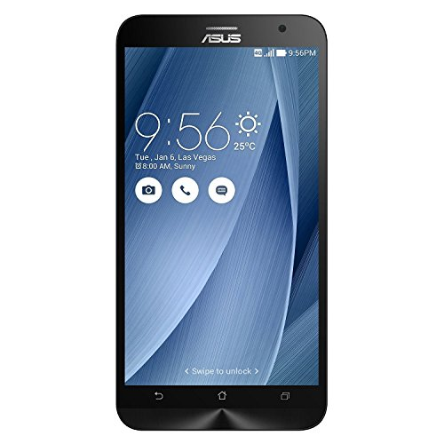 ASUS ZenFone 2 64GB GSM Unlocked Smartphone 4GB RAM 5.5″ HD LCD -Silver (Certified Refurbished)