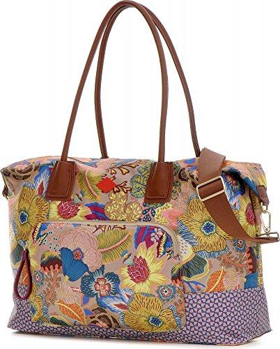 OILILY, sacs à main femmes, sacs à main, cabas, multi, 48 x 31,5 x 16,5 cm H x L x P)