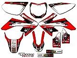 Team Racing Graphics kit for 2013-2017 Honda CRF 50, ANALOG