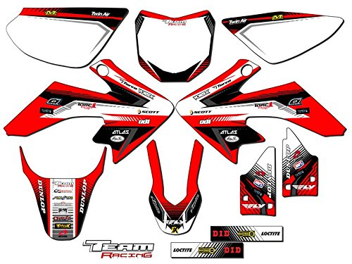 Team Racing Graphics kit for 2013-2019 Honda CRF 50, ANALOG