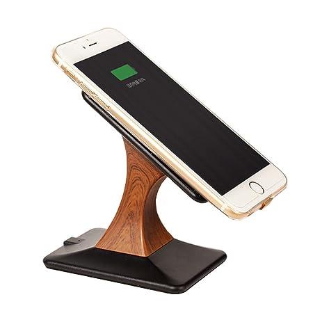 Vernwy Cargador inalámbrico-para iPhone Android Universal ...