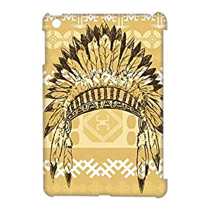 Custom Be a Warrior Indian Retro Style Apple Ipad Mini 2 Hard Case Cover phone Cases Covers