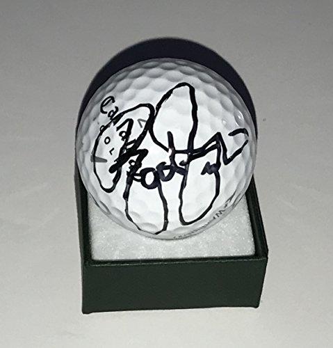 Signed Golf Ball Masters - Rickie Fowler signed golf ball Callaway 2019 Masters pga beckett coa