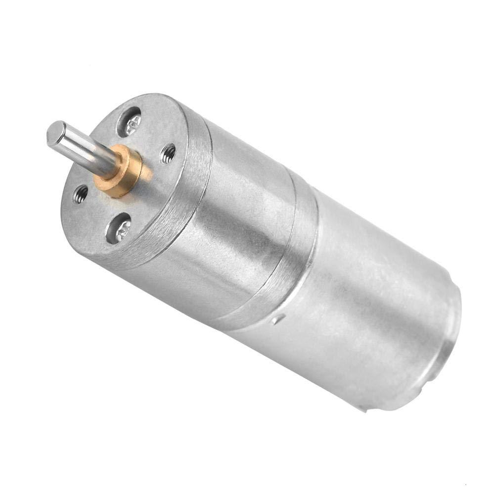 12V 10RPM DC Electric Gear Motor,25mm DC 12V 25GA-370 Low Speed Metal Gear Motor for Electronic Lock