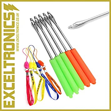 5 BRAND NEW LARGE PLASTIC DISGORGERS FOR CARP TACKLE COARSE FISHING