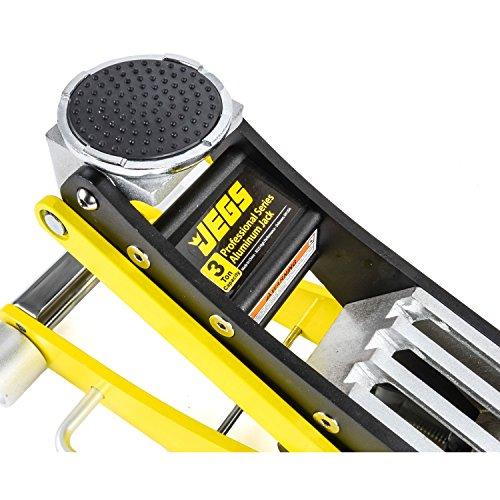 JEGS 80077 3 Ton Professional Low-Profile Aluminum Floor Jack