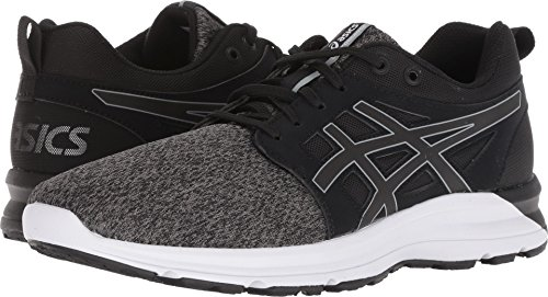 ASICS Women's Torrance Running Shoe, Black/Stone Grey, 8 B(M) US