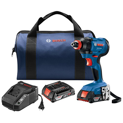 Bosch 18V 1/4 In. Two-In-One Socket-Ready Impact Driver Kit