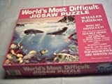 World's Most Difficult Jigsaw Puzzle , Whales Edition , 529 pc by Buffalo