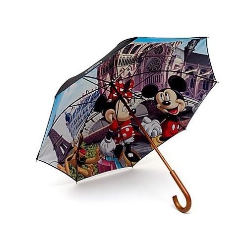 Amazon.com: Disneyland Paris Mickey and Minnie Umbrella, Paris