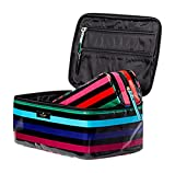 Kate Spade New York Daycation Large Colin Cosmetic Travel Case Multi Stripe
