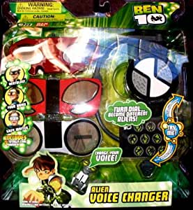 Ben 10 Alien Voice Changer #1 - Heatblast, Greymatter & Fourarms