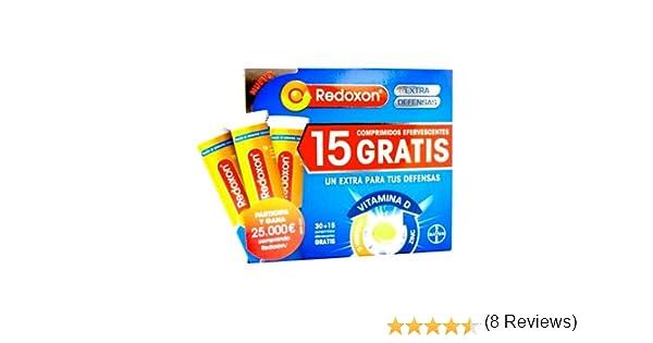 Redoxon extra defensas 30+15 comprimidos efervescentes: Amazon.es: Salud y cuidado personal