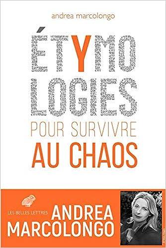 Couverture Etymologies pour survivre au chaos