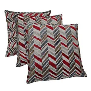 Wholesale Lot Of 3 Pillow Case Upholstery Kilim 40X40cm Cushion Cover Decorative Indian Gift Art 16 Inches