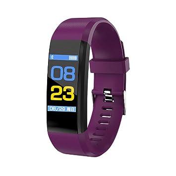 Singhi Montre Connectée Étanche IP67, Bracelet Connectée Natation Écran Couleur Bluetooth Fitness Tracker d