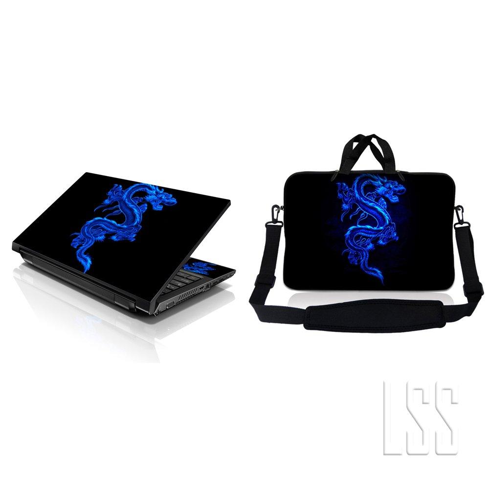 LSS & Macbook PRO Laptop Laptop Laptop Sleeve Bag Carrying Case w/Hidden Handle & Matching Vinilo Adhesivo Para 16