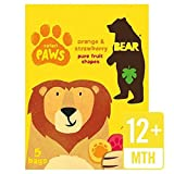 Bear Pure Fruit Paws Safari Multipack - 5 x 20g