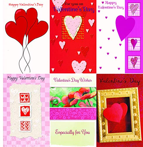 Valentine's Day Greeting Cards - 36 Assorted -