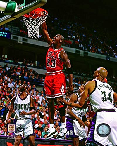 reputable site 2763c 3b4f9 Amazon.com: Michael Jordan Chicago Bulls NBA Action Photo ...