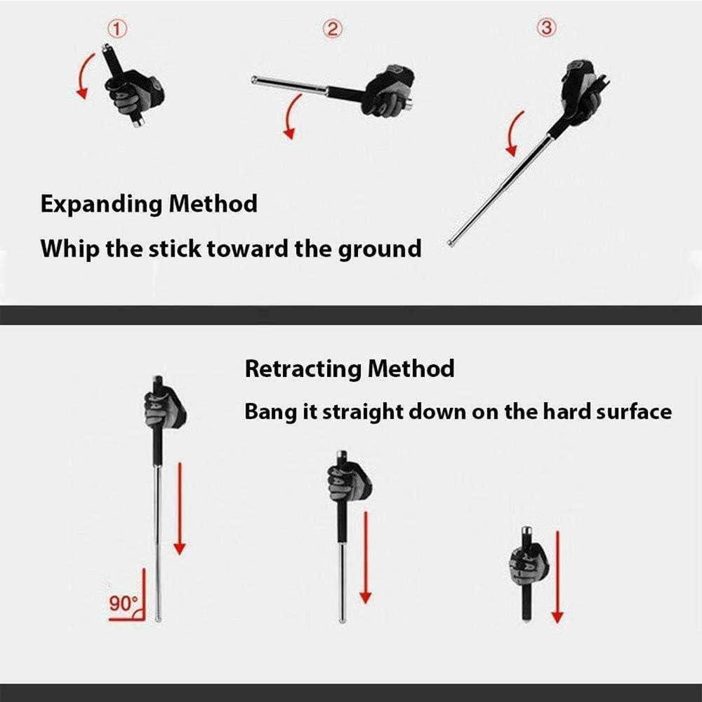 NAA Dispositivo Ajustable de 3 etapas Bastones de Trekking Bast/ón de Caminar Ajustables para Senderismo Y Escalada
