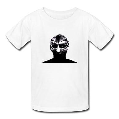 c82f58190 Amazon.com: Printed Men's Mf Doom Tee Shirt Custom Crew Neck T-Shirt US M  White: Clothing
