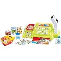 STOBOK Caja Registradora de Jguete para Niños Juego de Caja Registradora con Sonido y Luz para Niños Pequeños (Color Aleatorio)