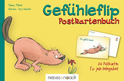 Gefühleflip - Postkartenbuch Broschiert – 19. März 2014 Marion Mebes Antje Bohnstedt mebes & noack 3927796999