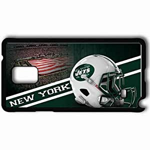 taoyix diy Personalized Samsung Note 4 Cell phone Case/Cover Skin 14310 new york jets by texasob1 d5di4qi Black